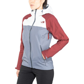 The North Face Stratos Jacket Damen grisaille grey/tin grey/rum bred
